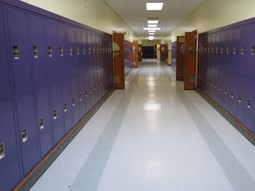 School Corridor Lockers Tennessee